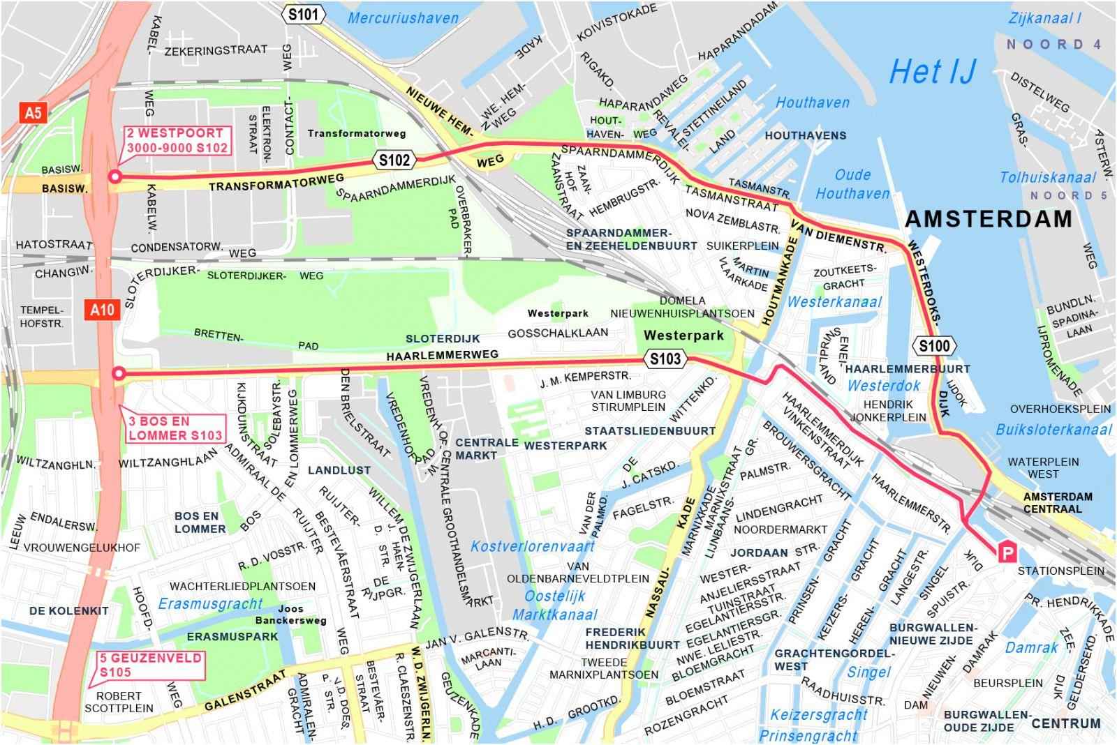 Goedkoop Parkeren Voor 20 Dag Bij Amsterdam Centraal P1