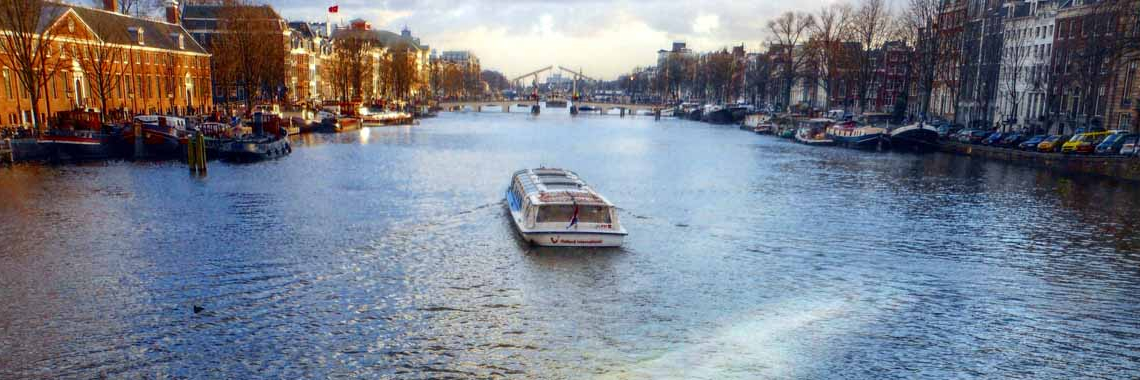 Parkeren rondvaart Holland International, Canal Cruise en Gray Line