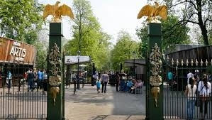 Parken am Artis Zoo in Amsterdam
