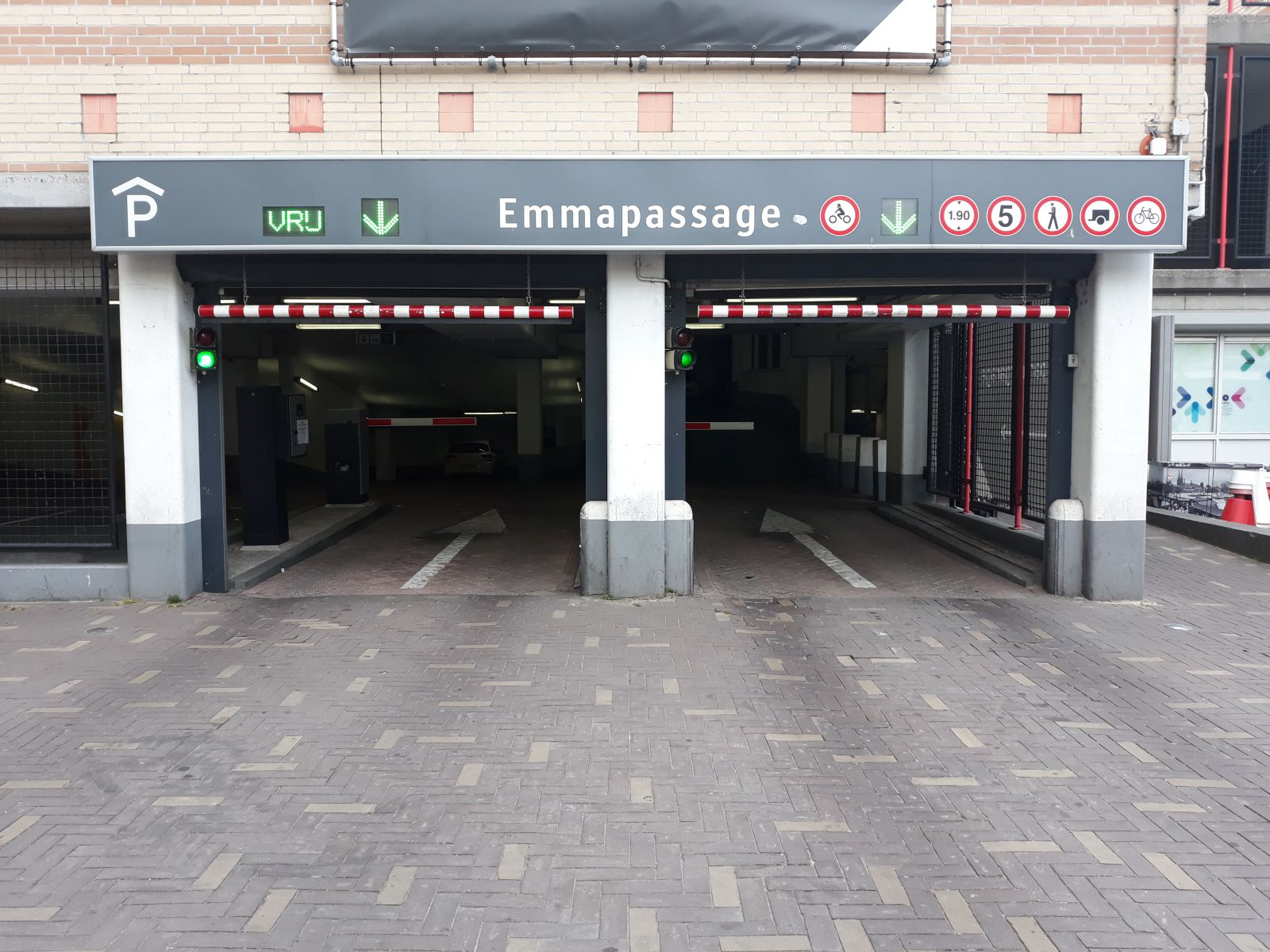 Parkeergarage Emmapassage